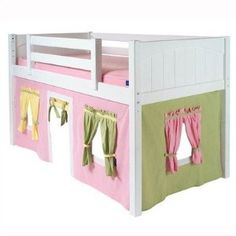 Twin Size Playhouse Curtain Color Super cute!