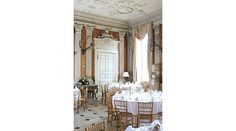 The Saloon Aranged for a Large Dinner - The Ditchley Foundation