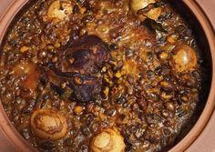 Sólet, ahogy én készítem   Kacsa receptje - Cookpad receptek Pot Roast, Pork, Beef, Ethnic Recipes, Carne Asada, Kale Stir Fry, Meat, Roast Beef, Pork Chops