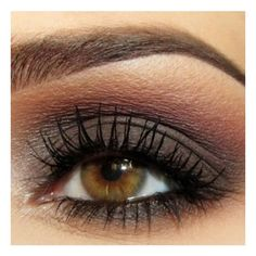 #Brown Eye Makeup #beauty #makeup