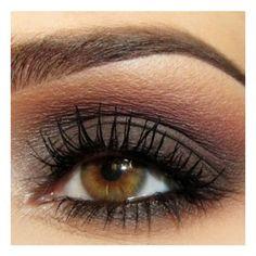 #Brown Eye Makeup #beauty #makeup