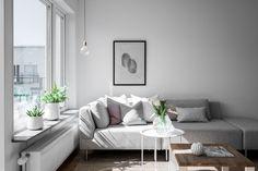Lundin Fastighetsbyrå - 2:a Eriksberg  -  Ljus tvåa högst upp i huset med solig söderbalkong