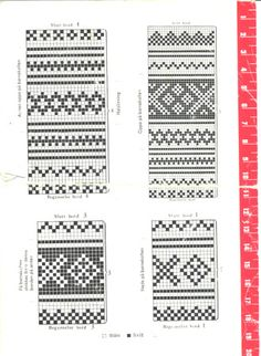 Setesdalskofte nr 373 s-3 Thread Crochet, Knit Crochet, Knit Stranded, Fair Isle Chart, Knitting Patterns, Sewing, Cardigans, Sweaters, Charts