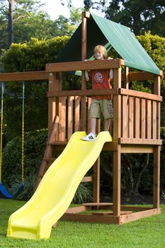 How To Build Diy Wood Fort And Swing Set Plans From Jack S