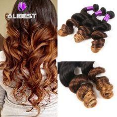 $72.00 (Buy here: https://alitems.com/g/1e8d114494ebda23ff8b16525dc3e8/?i=5&ulp=https%3A%2F%2Fwww.aliexpress.com%2Fitem%2FRemy-Brazilian-Virgin-Hair-Bundles-Ombre-2pcs-lot-Brazilian-Loose-Wave-Curly-Hair-Ombre-Weave-6A%2F32420307326.html ) Remy Brazilian Virgin Hair Bundles Ombre 2pcs/lot Brazilian Loose Wave Curly Hair Ombre Weave 6A Brazilian Virgin Curly Hair for just $72.00