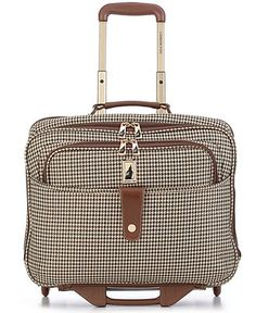 London Fog Rolling Computer Bag, Chelsea Lites 360 Laptop Friendly Business Case - Duffels & Totes - luggage - Macy's