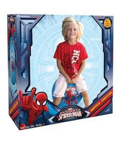 This Ultimate Spider-Man Hopper is perfect! #zulilyfinds