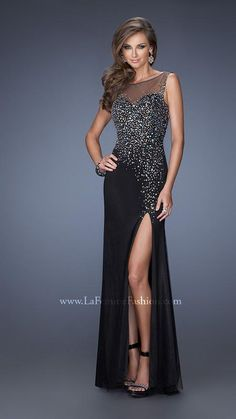 La Femme 19862 | La Femme Fashion 2014 - La Femme Prom Dresses - Dancing with the Stars