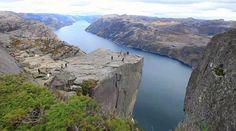 Preikestolen Pulpit Rock, Norja