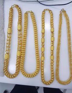 Mens Chains, Gold Chains For Men, Mens Gold Jewelry, Baby Jewelry, Gold Chain Design, Gold Jewellery Design, Wedding Mandap, Gold Accessories, Necklace Designs