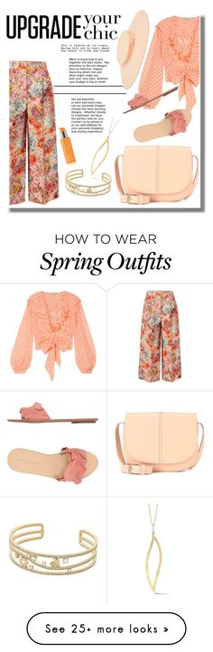 """Coral Spring Outfit"" by h-r-welker on Polyvore featuring Valentino, Temperley London, Michael Kors, Rodial, A.P.C., Loeffler Randall, I. Reiss and Harrods Coral Springs, Temperley, Loeffler Randall, Reiss, Harrods, Spring Outfits, Valentino, Michael Kors, London"