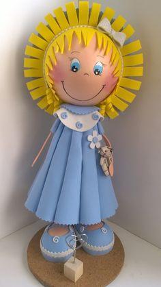 Fofuchas, Bleuette et son chapeau : Chambre d'enfant, de bébé par creathoum