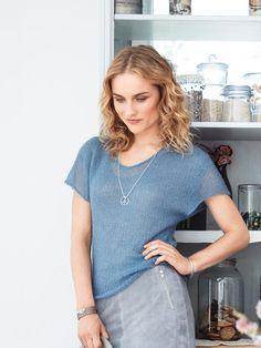 Schnittmuster: Shirt - überschnittene Schultern - Shirts - Damen - burda style