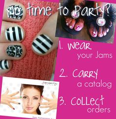 How about hosting a Jamberry Nails Catalog party!! www.jenniferquick.jamberrynails.net