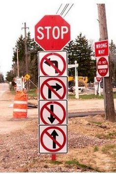 10 Hilarious Road Signs You Won't Believe Existed! So funny! Click to be shocked and amazed! #lol #spon