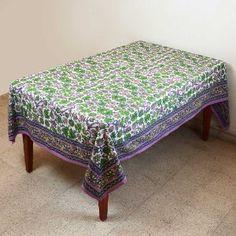 Primavera mantel Rectangular 152 X 228 mesa decoraciones florales algodón: Amazon.es: Hogar