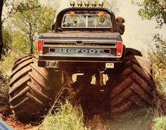 Custom Lifted Trucks, Jacked Up Trucks, Lifted Cars, Cool Trucks, Muddy Trucks, Lifted Chevy, 1979 Ford Truck, Ford Pickup Trucks, Chevy Trucks