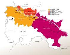 Región privilegiada para el cultivo de la vid y elaboración de vinos de alta calidad con personalidad única y gran aptitud para la crianza, la zona de producción de la Denominación de Origen Calificada Rioja está situada en el Norte de España, a ambos márgenes del río Ebro.