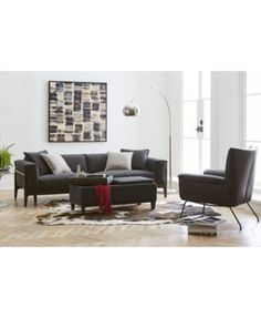 Jenelle Fabric Sofa Collection, Created for Macy's | macys.com