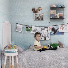 〚 New doze of wallpaper inspiration by Sandberg 〛 ◾ Photos ◾Ideas◾ Design Kids Room Wallpaper, Wall Wallpaper, Baby Bedroom, Kids Bedroom, Cool Kids Rooms, Ideas Para Organizar, Kids Decor, Room Inspiration, Kid Decor