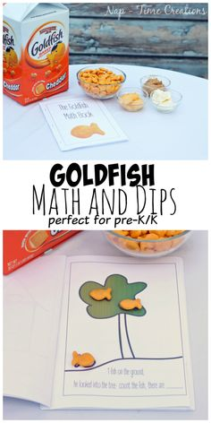 Goldfish Math and Dips #GoldfishMix #CollectiveBias #ad Seen on Nap-Time Creations @walmart