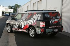 Custom vehicle graphics and car wraps by Iconography. All types including fleet, matte, truck, trailer, Sprinter and cargo vans Ford Flex, Cargo Van, Car Wrap, Yahoo Images, Image Search, Surfing, Custom Design, Vehicle Wraps, Trucks