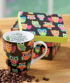 OWL Mug in a Box