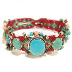 Maharani Paris macrame bracelet
