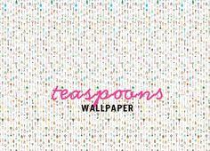 Studio Ditte Teaspoon Wallpaper / sfgirlbybay