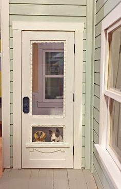 The Kinfeld: Dollhouse doors