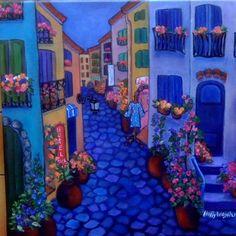 Le Rue de Collioure, en Bleu...