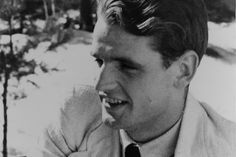 Hans Scholl, member of the White Rose Resistance #WWII #WW2 #Germany (© Gedenkstätte Deutscher Widerstand)