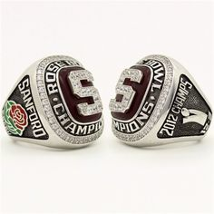 Custom 2013 Stanford Cardinal Rose Bowl Championship Ring
