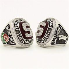 Custom 2013 Stanford Cardinal Rose Bowl Championship Ring