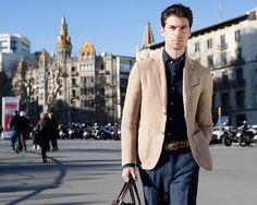 Fay City Diaries: an endless adventure in Barcelona. Men's Spring - Summer 2014 Blazer.