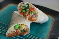 Vegetable Quinoa Wraps. Find local #cooking schools on #Educator #Hub [EducatorHub.com]