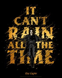 Classic Movies, Crow, Style Guides, Childhood, Rain, Photo And Video, Film, Creative, Movie Posters
