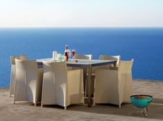 DIAMOND + SHARE meble na taras. Outdoor Furniture. Design: Foersom & Hiort-Lorenzen.