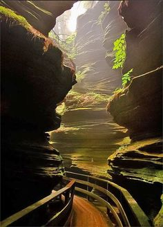 Nice ! Witches Gulch, Wisconsin in the US