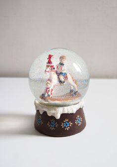 Jahrgang Snow Globe Vintage Weihnachten Dekor von FlorenceMercato