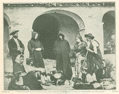 digital history project: Sons Of the Wildnerness Hermit Monks of Sierra Morena Cordoba Spain
