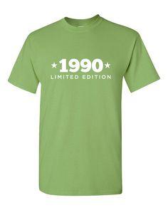 1990 Limited Edition Shirt 2015 Birthday 25th by BombDaddyTees
