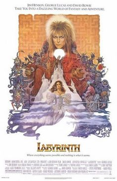 Labyrinth is a 1986 British-American fantasy film directed by Jim Henson, produced by George Lucas and based upon conceptual designs by Brian Froud. The film stars David Bowie as Jareth and Jennifer Connelly as Sarah. The plot revolves around Sarah's quest to reach the center of an enormous otherworldly maze to rescue her infant brother Toby, who has been kidnapped by Jareth, the Goblin King