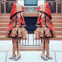 Really like latest african fashion look African Inspired Fashion, African Print Fashion, Fashion Prints, Fashion Design, African Prints, Ankara Fashion, Ethnic Fashion, African Dresses For Women, African Wear