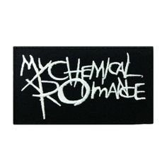 Amazon.com: My Chemical Romance Music Band Logo II Embroidered Iron Patches: Clothing $7 after shipping.