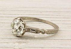 Etsy Engagement Rings Rose Gold