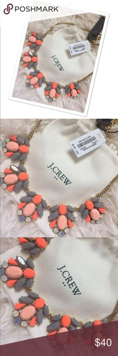 🌹🎉Stunning Jcrew necklace 🎉 New with tags ...authentic ...cute ...super colorful necklace 🎉 J. Crew Jewelry Necklaces