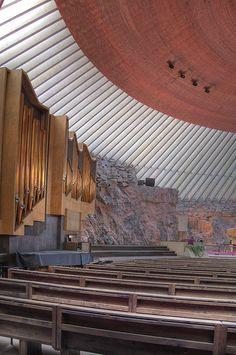 Temppeliaukio Kirkko (Rock Church) Helsinki