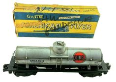 Fair-to-Fine Condition.<br/><br/>Upgrade S-Gauge collection and grab this beauty! Tank car looks great for being 60 years old! Box is worn out, and is not original, but may still be used for storage. PICTURES ARE OF THE ACTUAL PRODUCTS. | eBay!