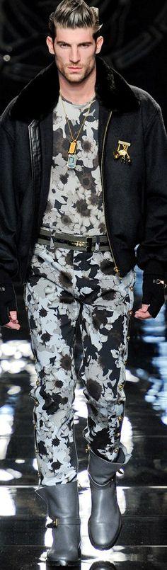 Versace   Menswear  Fall